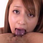舌入れアナル舐めをする白石マリエの動画|ケツ穴へのベロの突っ込み具合とピチャピチャ響く唾液音に大興奮!