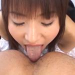 純名もものアナル舐め手コキ動画 -メイドコスプレで肛門を物凄く丁寧かつ濃厚に愛撫する-