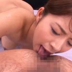 アナル舐めご奉仕をする藤浦めぐの作品 -吉村卓の肛門をジュルジュルと入念に愛撫する-