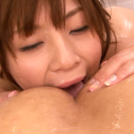 お尻の穴を舐める藤浦めぐ -マットプレイとチングリ返しでアナルを刺激する-