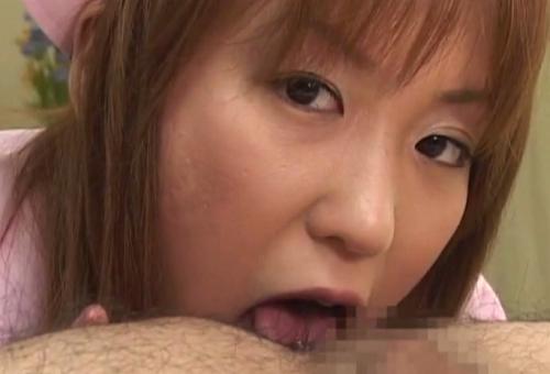 彩名杏子のアナル舐め