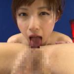 森沢かな(飯岡かなこ)の舌入れアナル舐め動画 ケツ穴にズボズボベロを突っ込む
