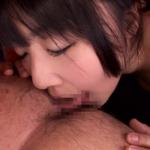 広げたアナルをレロレロ動かす舌先で愛撫するつぼみ 3Pでは肉棒挿入されたりしながらアナル舐め手コキ!!